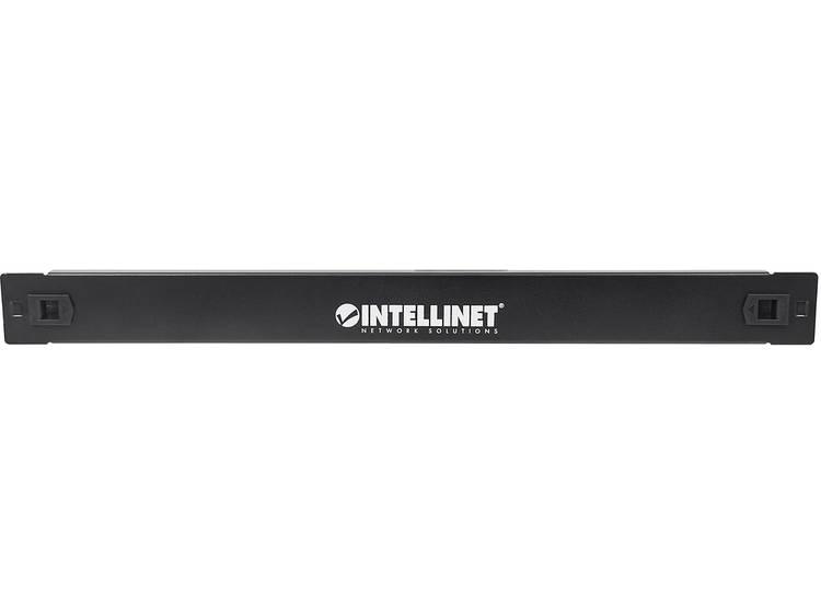 Intellinet 714310 19 inch Patchkast afdekking 1 HE Geschikt voor kastdiepte van