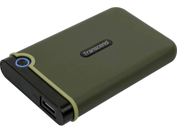 Transcend StoreJet® 25M3G 1 TB Externe harde schijf (2.5 inch) USB 3.1 Legergroen