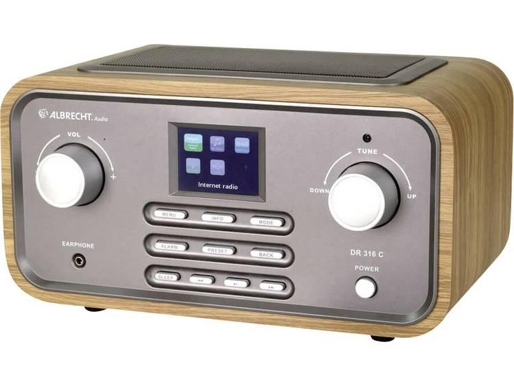 Albrecht DR 316 C Tafelradio met internetradio DAB+, FM AUX, WiFi, Internetradio