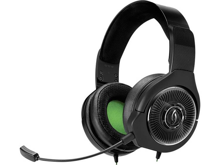 Gaming headset 3.5 mm jackplug Stereo Afterglow AG6 On Ear Zwart