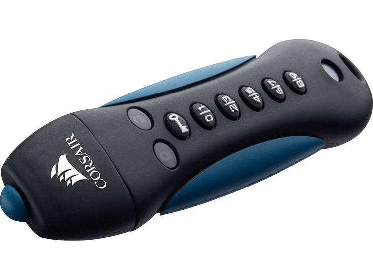 Corsair Padlock® 3 USB-stick 32 GB Zwart/blauw CMFPLA3B-32GB USB 3.0