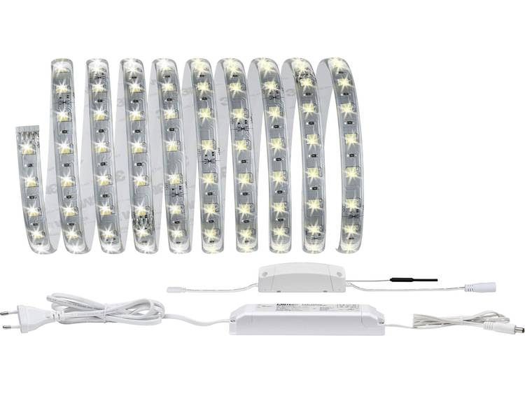 Paulmann Paulmann Home LED-strip (startset) Reflex LED vast ingebouwd Warm-wit, Neutraal wit, Daglic