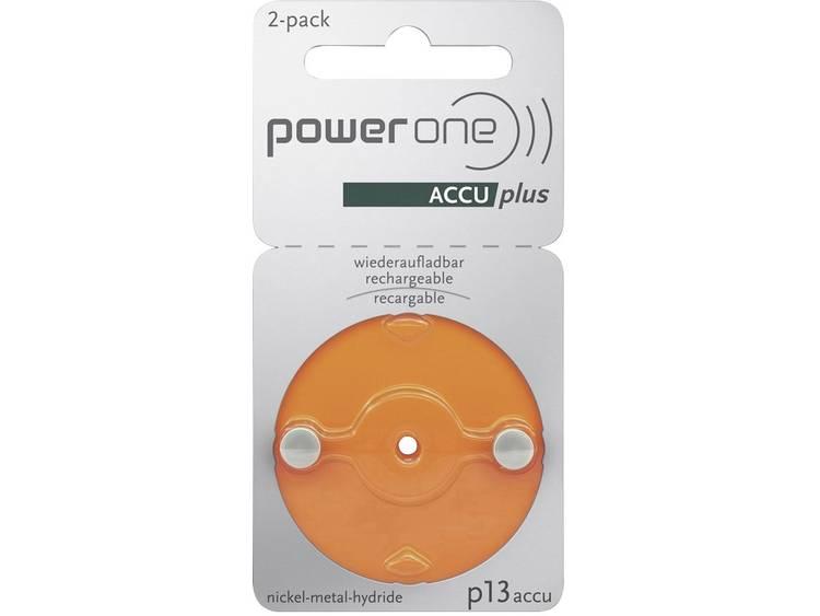 Powerone P13 Oplaadbare batterij voor hoortoestel ZA13 NiMH 31 mAh 1.2 V 2 stuk(s)