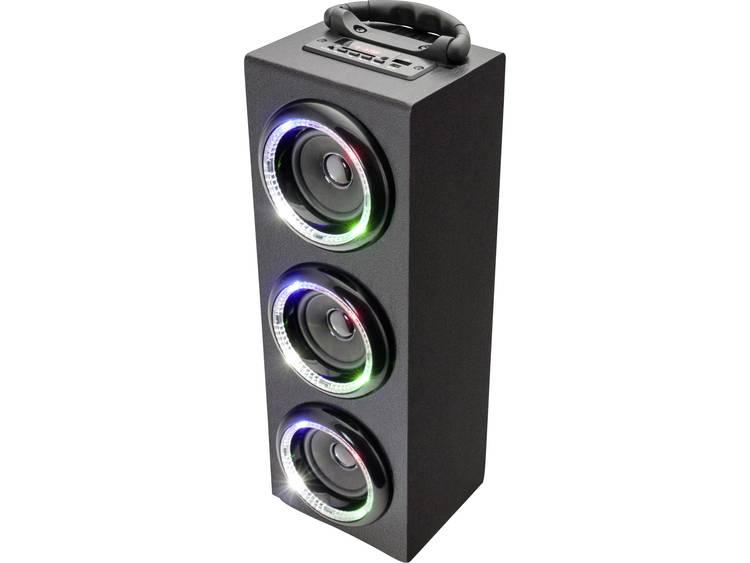 Caliber Audio Technology HPG 526BTL Bluetooth luidspreker AUX, FM radio, USB Zwart