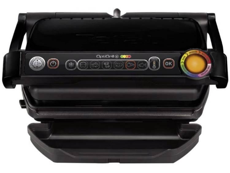 Tefal Optigrill GC7128/50 Contactgrill Elektrisch Automatische temperatuuraanpassing Zwart