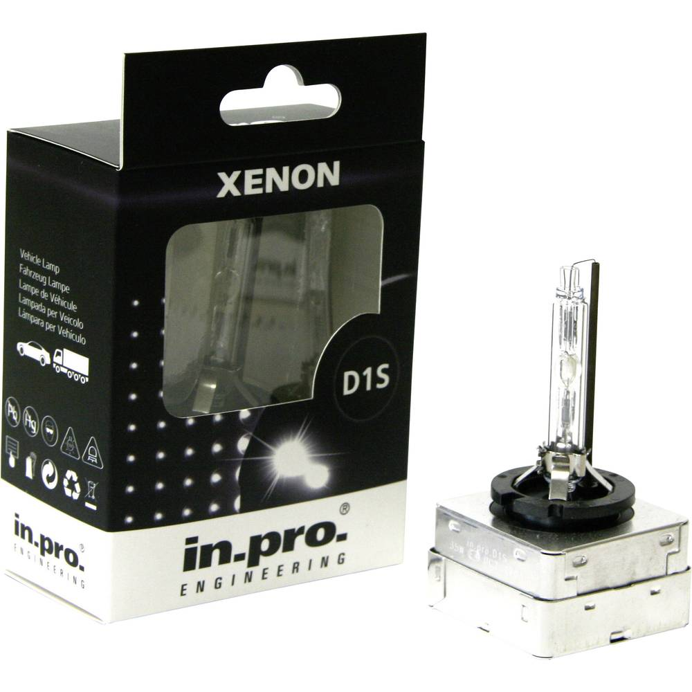 In.Pro 011806 Xenonlampa White Xenon D1S 35 W 12 V