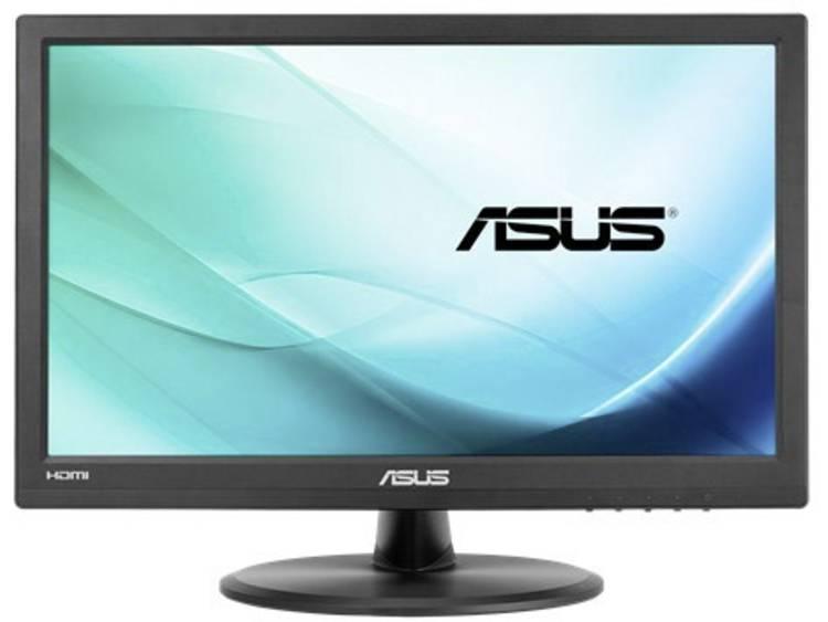 Touchscreen monitor 39.6 cm (15.6 inch) Asus VT168H Energielabel A+ 1366 x 768 pix HD 5 ms HDMI, VGA, USB TN LCD