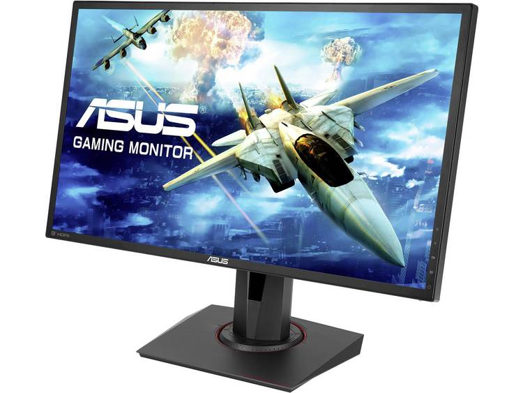 LED-monitor 61 cm (24 inch) Asus MG248QR Energielabel B 1920 x 1080 pix Full HD 1 ms HDMI, DisplayPort, DVI, Hoofdtelefoon (3.5 mm jackplug) TN LED