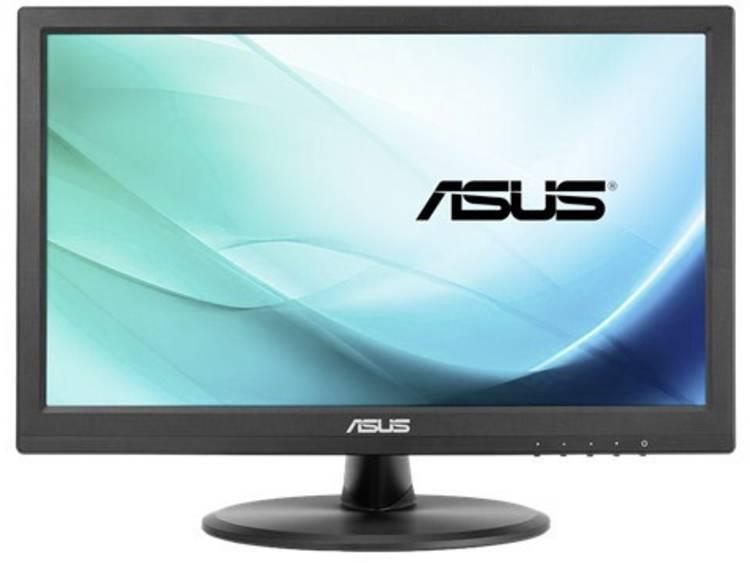 Touchscreen monitor 39.6 cm (15.6 inch) Asus VT168N Energielabel n.v.t. 1366 x 768 pix HD 10 ms DVI, VGA TN LED