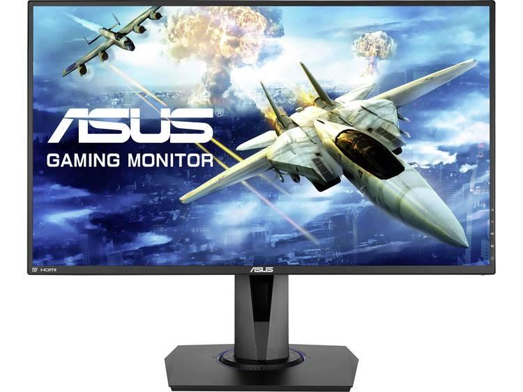 LED-monitor 68.6 cm (27 inch) Asus VG275Q Energielabel B 1920 x 1080 pix Full HD 1 ms HDMI, DisplayPort, Hoofdtelefoon (3.5 mm jackplug) TN LED