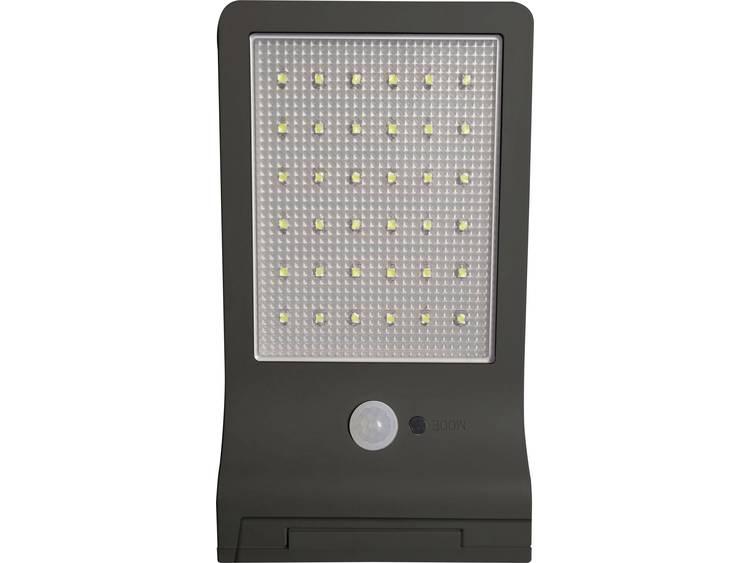 Müller Licht 21000005 Solar wandlamp met bewegingsmelder 3 W Daglicht-wit Zwart