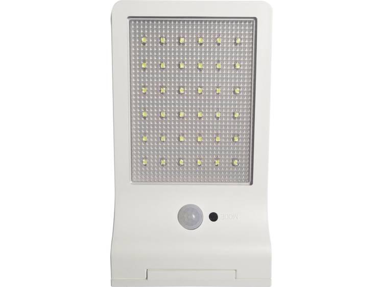 Müller Licht 21000006 Solar wandlamp 3 W Daglicht-wit Wit
