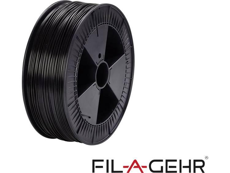 Filament Fil-A-Gehr 2205032175 1.75 mm Zwart 2.3 kg