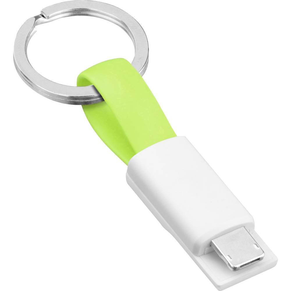 Smrter USB 2.0 Adapter [1x USB 2.0 stekker A 1x Apple Lightning, Micro-USB-stekker] Stekker past op