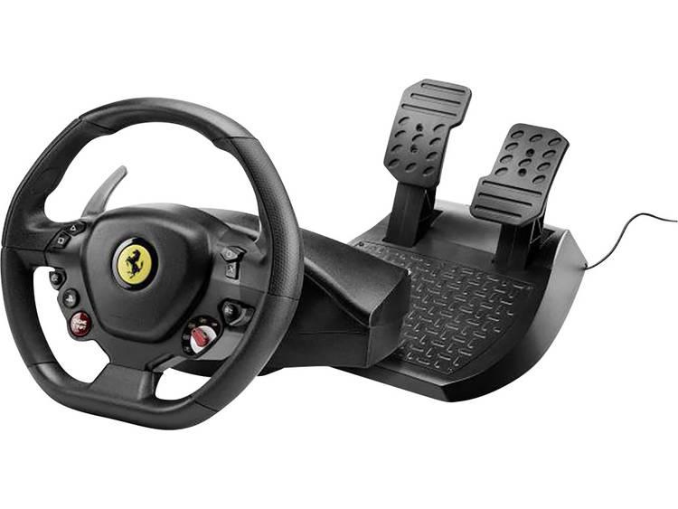 Stuur Thrustmaster T80 Ferrari 488 GTB Edition PlayStation 4 Zwart Incl. pedaal, Schroefbevestiging