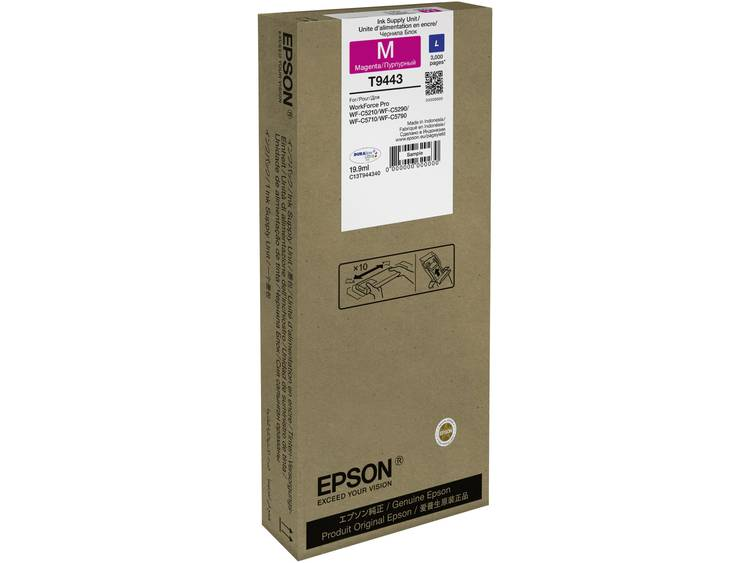 Epson Inkt T9443 Origineel Magenta C13T944340