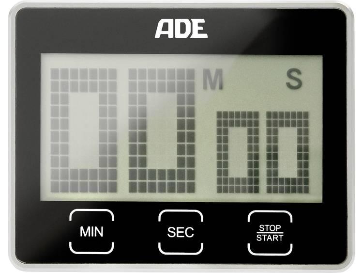 ADE TD 1203 Timer Zwart Digitaal