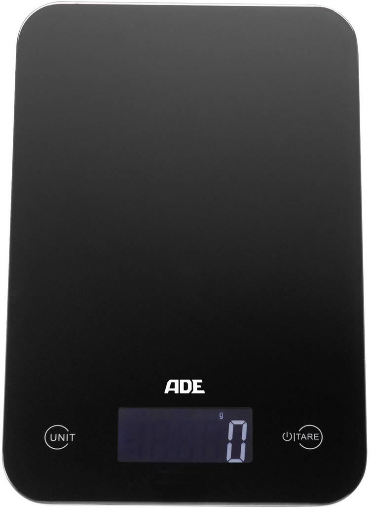 Image of Digitale keukenweegschaal ADE Slim Zwart