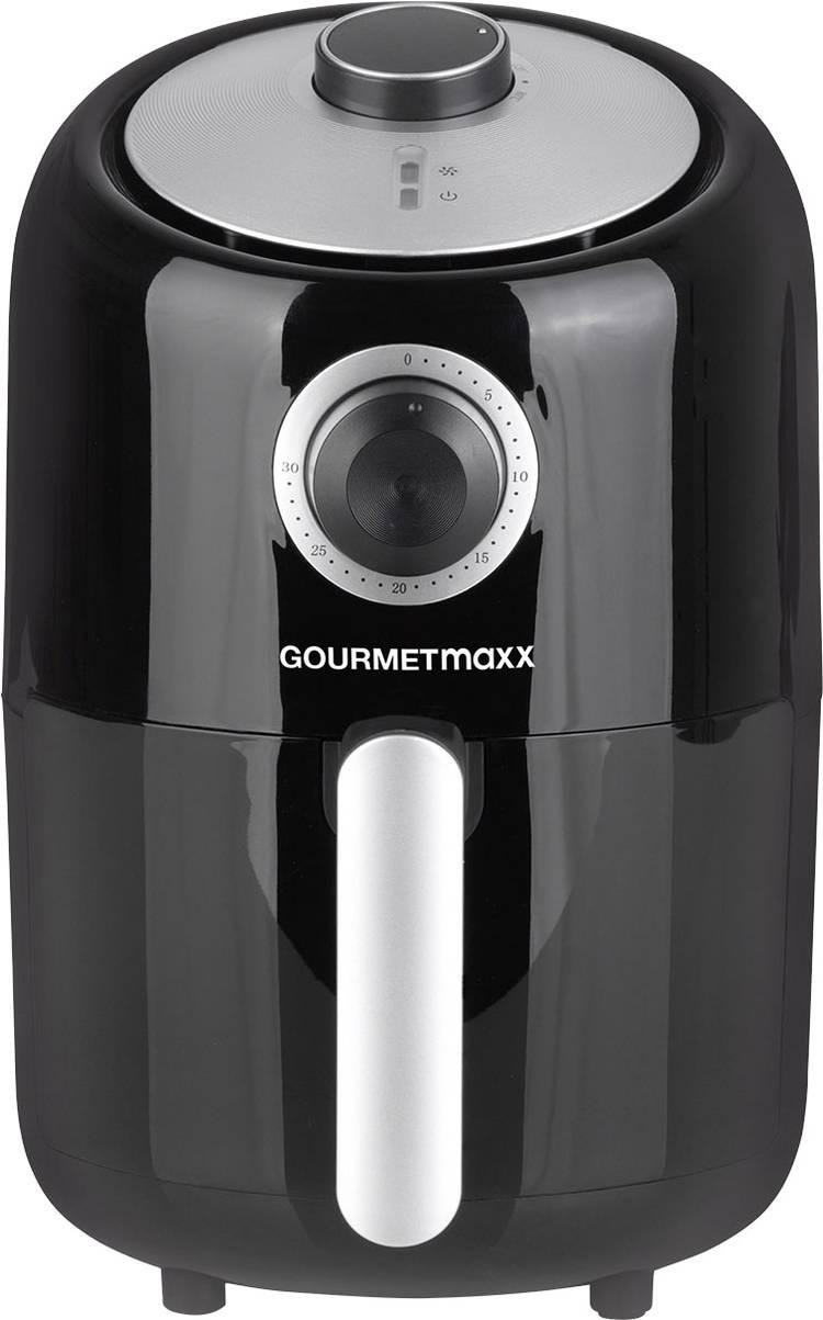 GourmetMaxx Frituurpan 1000 W Multifunctie Zwart