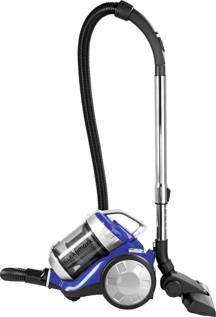 Image of Stofzuiger zonder zak CleanMaxx Energielabel (A - G) A Blauw, Zilver
