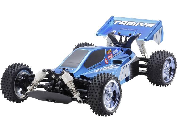 Tamiya Neo Scorcher Blue Met. 1:10 Brushed RC auto Elektro Buggy 4WD Bouwpakket