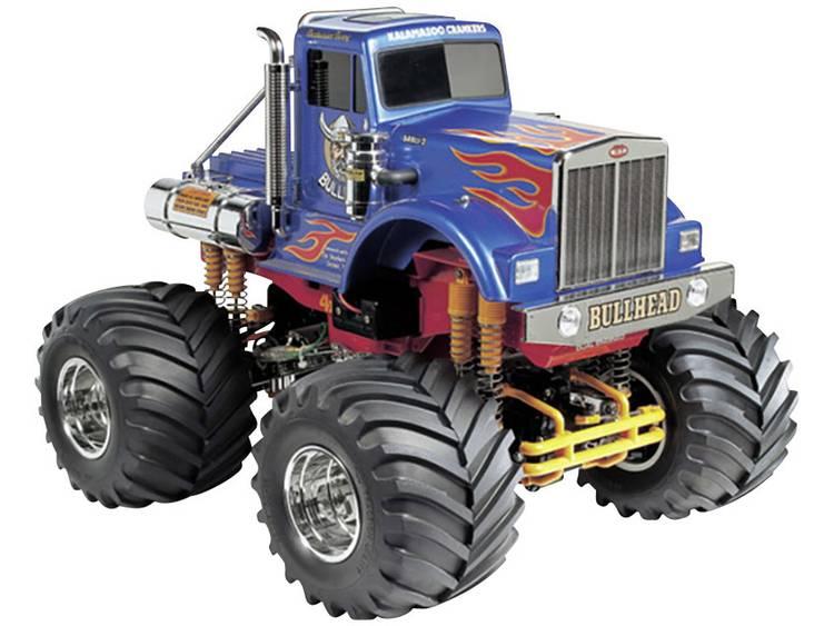 Image of Tamiya Bullhead 1:10 Brushed RC auto Elektro Monstertruck 4WD Bouwpakket