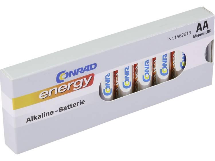 Conrad energy LR06 AA batterij (penlite) Alkaline 1.5 V 10 stuk(s)