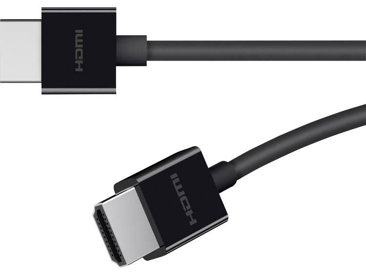 Belkin HDMI Aansluitkabel [1x HDMI stekker 1x HDMI stekker] 2 m Zwart