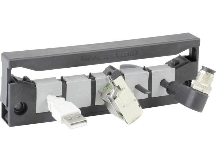 Icotek KEL-QUICK E5 Kabelinvoeringsplaat Polyamide Zwart 1 stuks