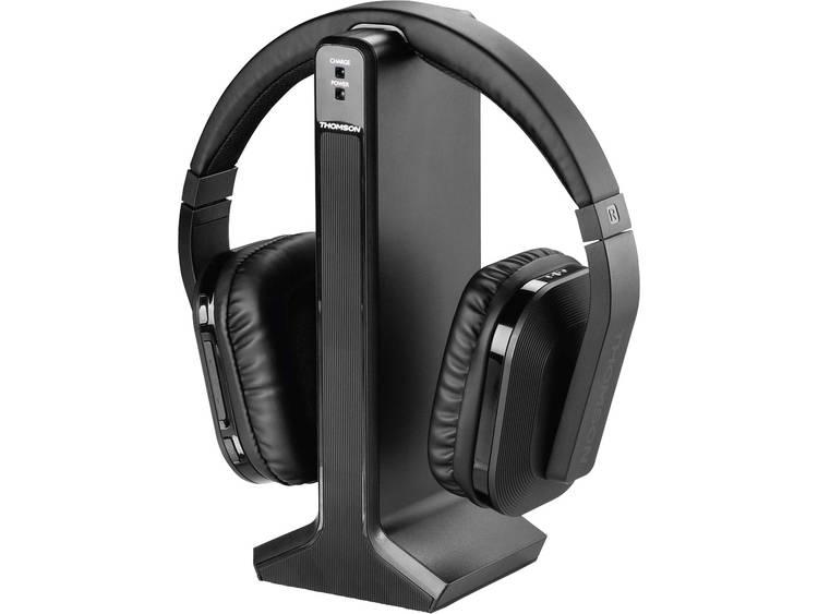Thomson WHP-5327 TV Oordopjes Over Ear Radiografisch Zwart Volumeregeling