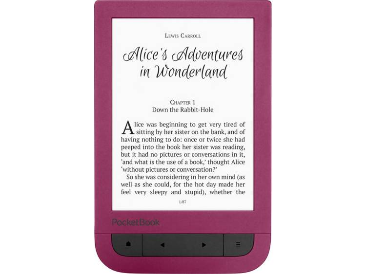 PocketBook TOUCH HD 2 eBook-reader 6 inch (15.2 cm) Robijn-rood