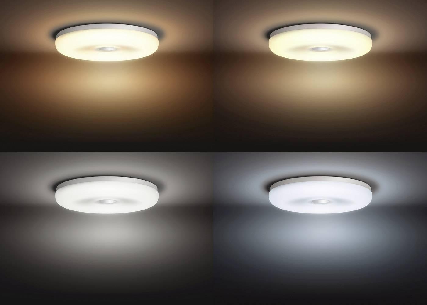 Philips lighting hue led plafondlamp voor badkamers struana led