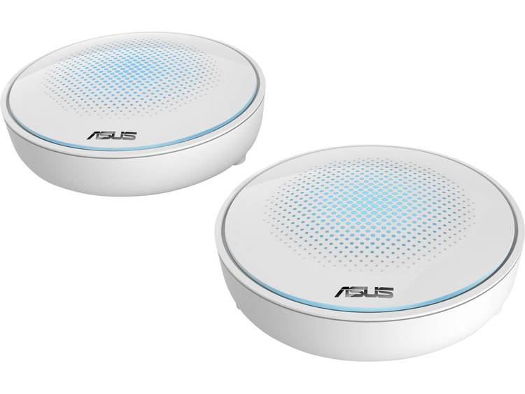 Asus Lyra Mini - 2in1 Pack Mesh-netwerk 1.300 Mbit/s 2.4 GHz, 5 GHz