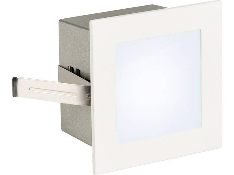 SLV LED-inbouwlamp Frame Basic 1 W Wit (mat) 113260