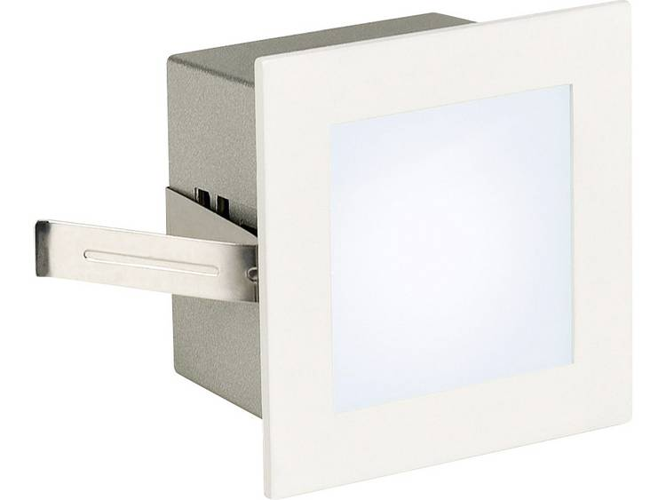 SLV LED-inbouwlamp Frame Basic 1 W Wit (mat) 113260