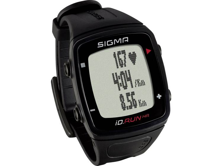 Sigma iD.RUN HR hartslagmeter zwart