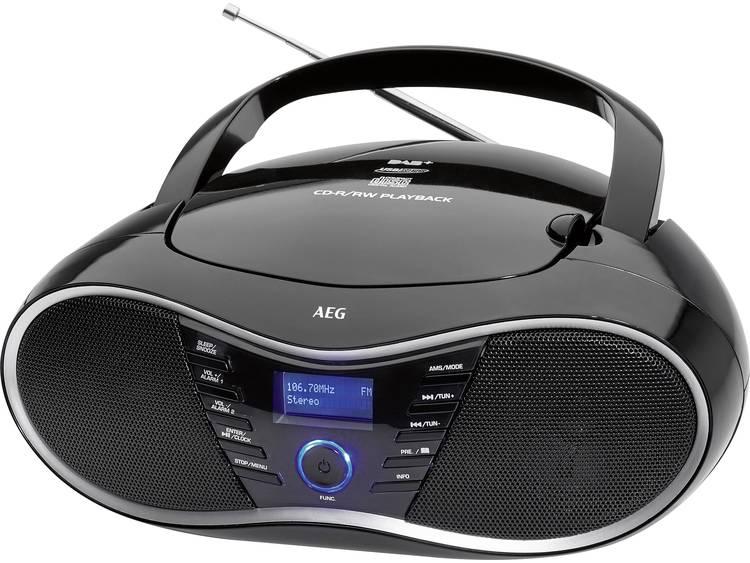 AEG Stereo Radio CD-Player SR 4380 DAB+ Schwarz