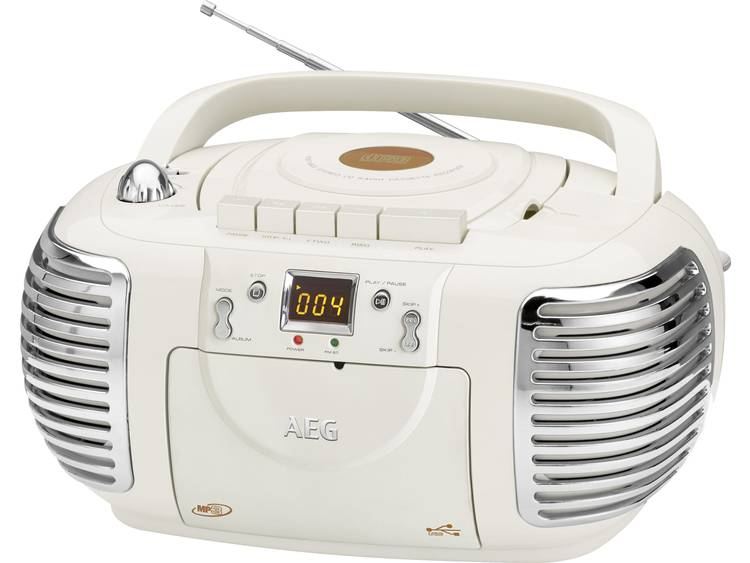 AEG Stereoradio with CD NSR 4374 (creme) AEG