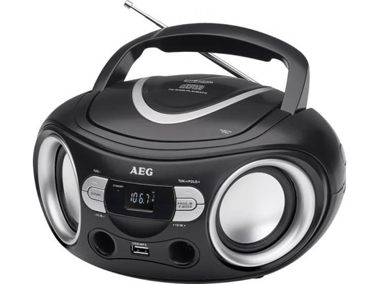 AEG Stereoradio with CD SR 4374 (black) AEG