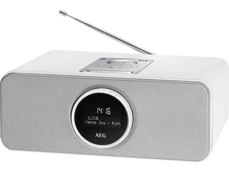 AEG SR 4372 FM Wekkerradio Wit