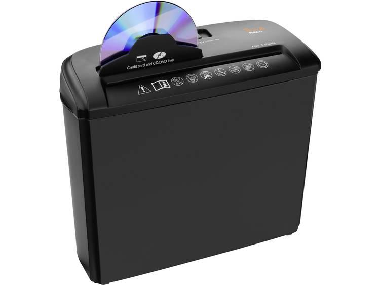 Papierversnipperaar Peach PS400-11 Strip cut 6 mm 7 l Aantal bladen (max.): 5 Veiligheidsniveau 1 Ook geschikt voor CDs, DVDs, Nietjes