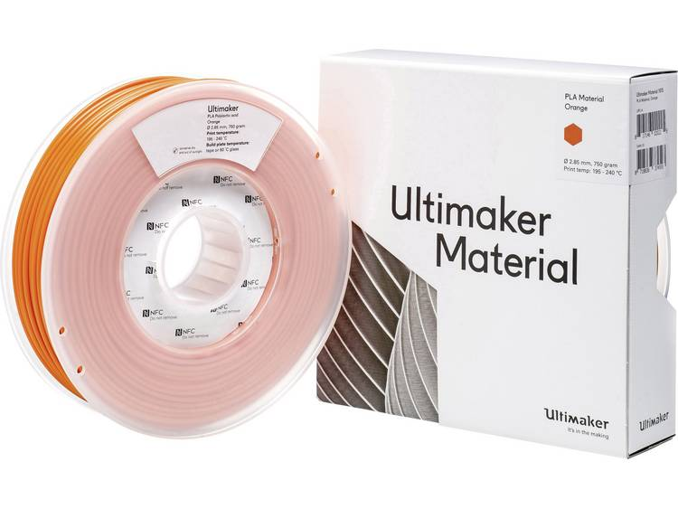 Filament Ultimaker 1615 PLA kunststof 2.85 mm Oranje 750 g