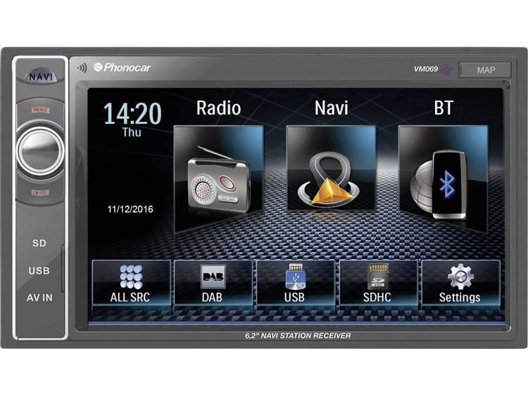 Phonocar VM069 Autoradio met scherm 4 x 50 W