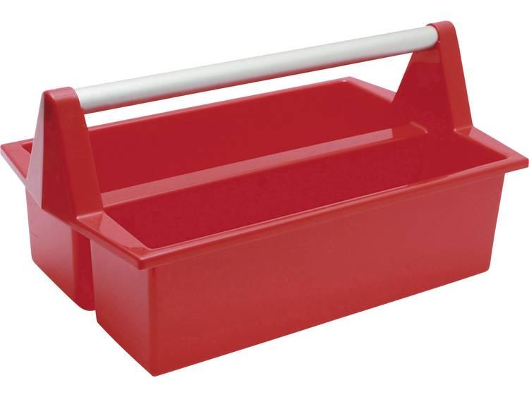 Alutec 109230041 Magnus Tray Universal Gereedschapsbox Rood kopen