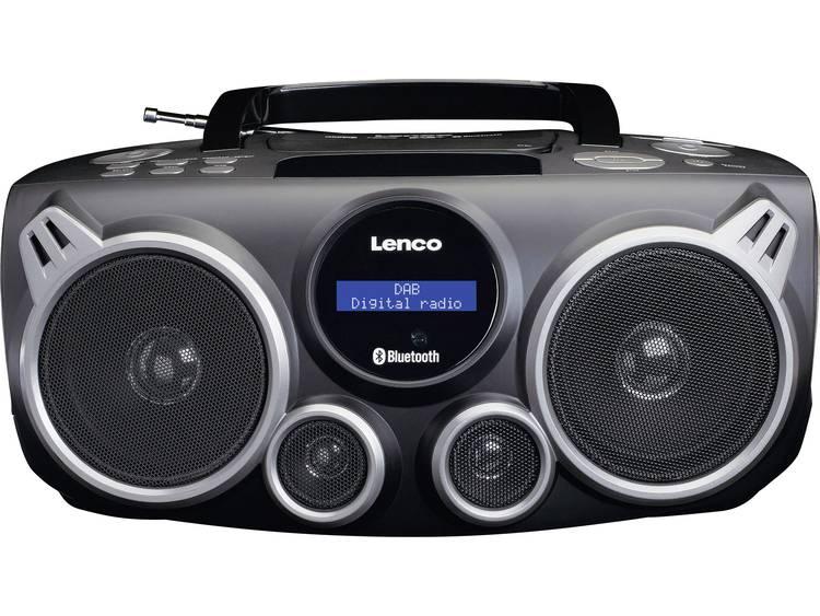 Lenco SCD-685 DAB+ CD-radio AUX, Bluetooth, DAB+, USB Zwart, Grijs
