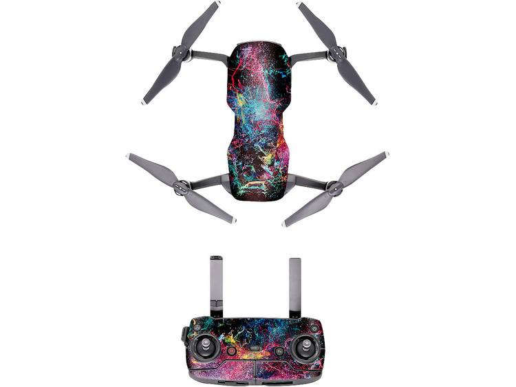 PGYTECH Purple Chaos Multicopter decoratiefolie Geschikt voor: DJI Mavic Air