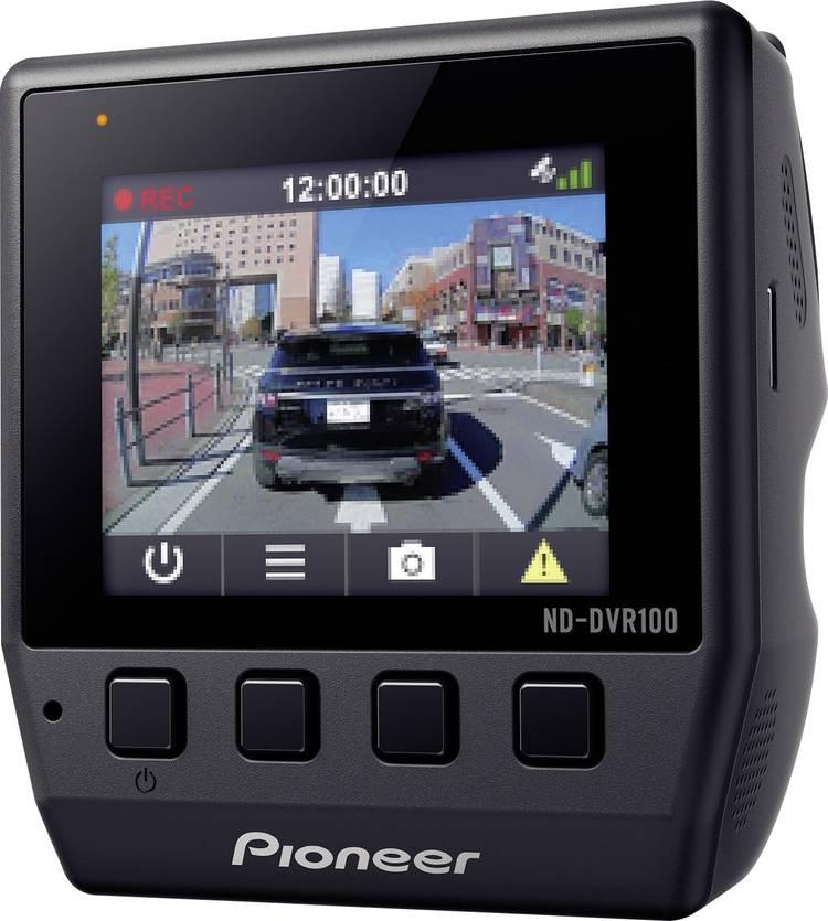 Image of Pioneer ND-DVR100 Dashcam met GPS Kijkhoek horizontaal (max.): 114  12 V Display, Microfoon, Accu