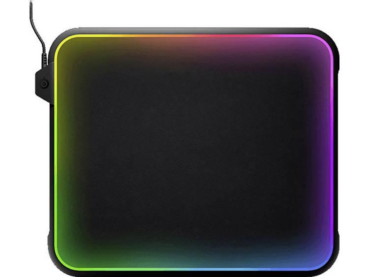 Gaming muismat Steelseries QcK Prism Verlicht Zwart, RGB
