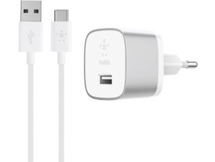 USB-oplader Belkin BOOSTâUP QC 3.0 F7U034vf04-SLV (Thuislader) Uitgangsstroom (max.) 3000 mA 1 x USB