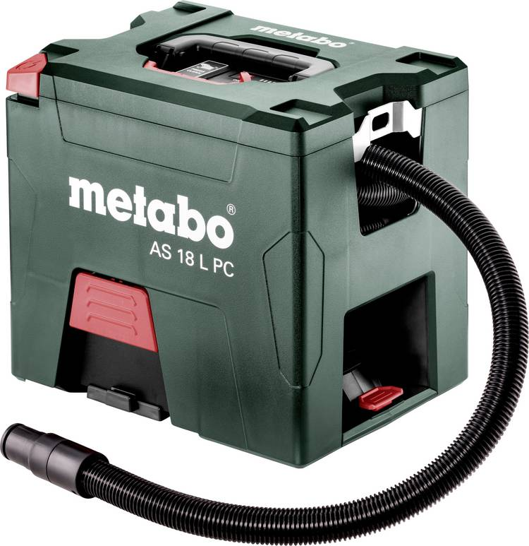 Metabo AS 18 L PC 602021000 Droogzuiger Set 7.50 l Stofklasse L gecertificeerd